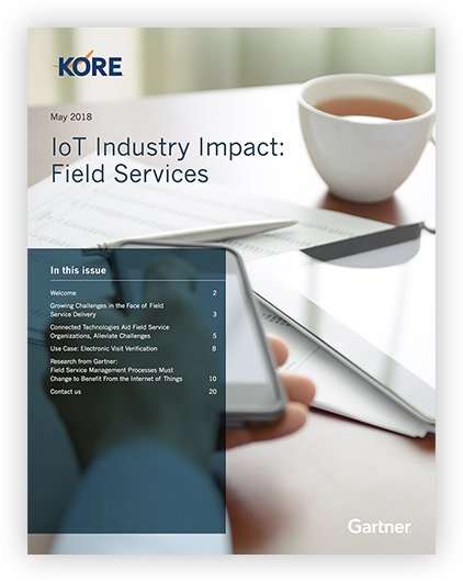 IoT Industry Impact: Field Services