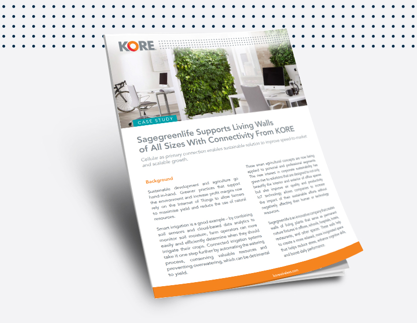 Access this case study to learn how advanced connectivity drives sustainable innovation.