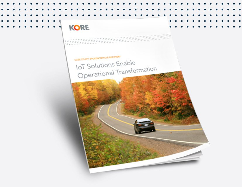 Download this case study to see how TRACKER and KORE are transforming automotive IoT and stolen vehicle recovery.